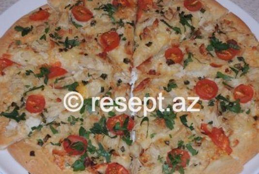 Toyuq əti Ilə Pizza Resept Az